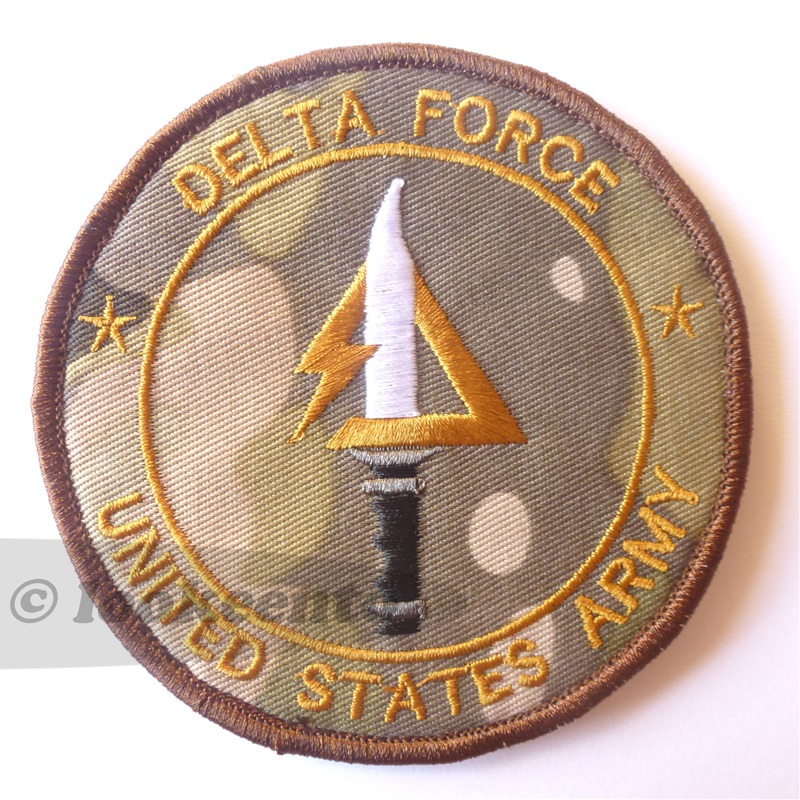velcro patch Delta Force US Army Special Forces Delta Unit ...
