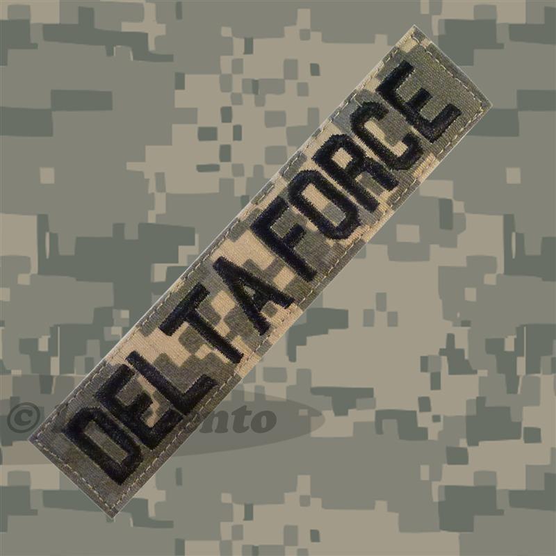 1st Special Forces Operational Detachment Delta Patch Acu Ecwcs 1st Special Forces Operational Detachment Delta Force Patch